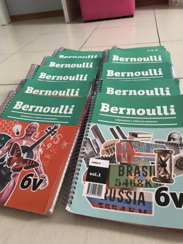Coleção completa bernoulli 6v