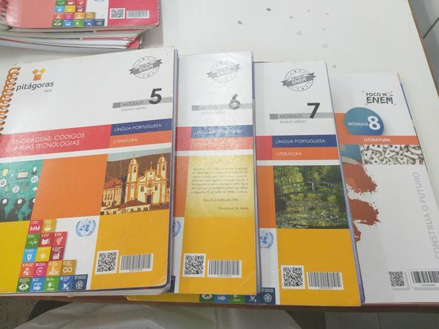 Coleção de livros rede Pitágoras 2 série completo