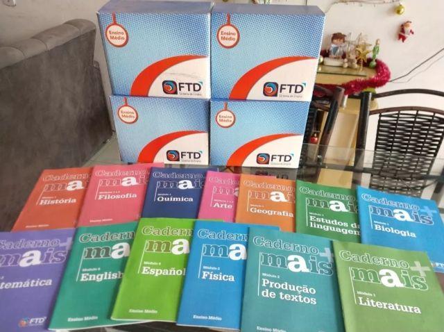 Coletânea de livros da FTD 1° ano Ensino Médio