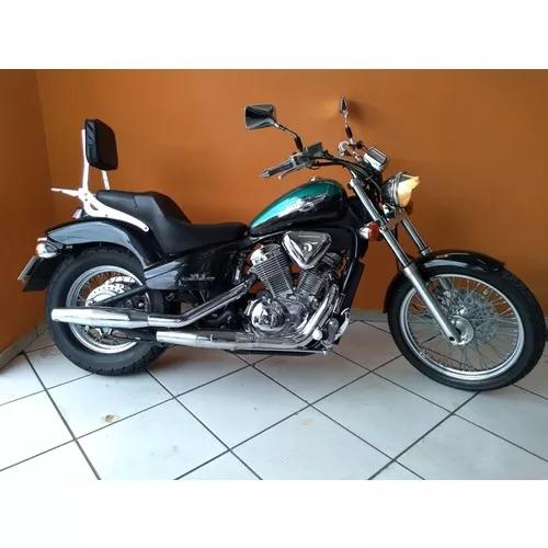 Honda Shadow 600 1999 Roxa