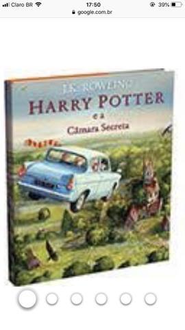 Livro Harry Potter e a câmara secret