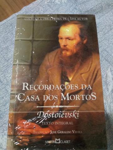 """Livro """"Recordacoes da Casa dos Mortos"""""""