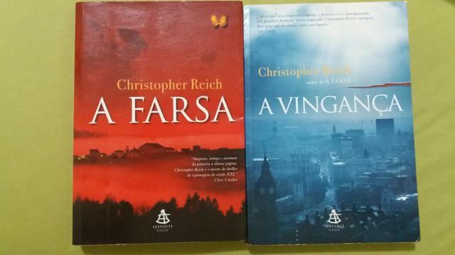 Livros A Farsa + A vingança (Christopher Reich)