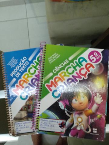 Livros Marcha Criança 5° Ano - usado