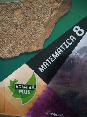 Livros Português e Matemática 8 - Araribá Plus