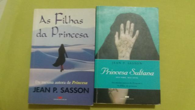 Livros Princesa Sultana + As filhas da princesa