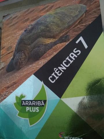 Livros escolares Araribá Plus, Ciências 7 e 8
