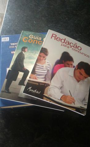 Vende-se livros para concursos