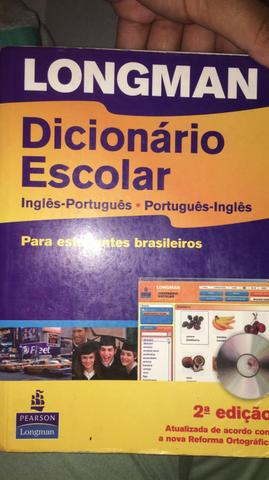 Vendo dicionário longman
