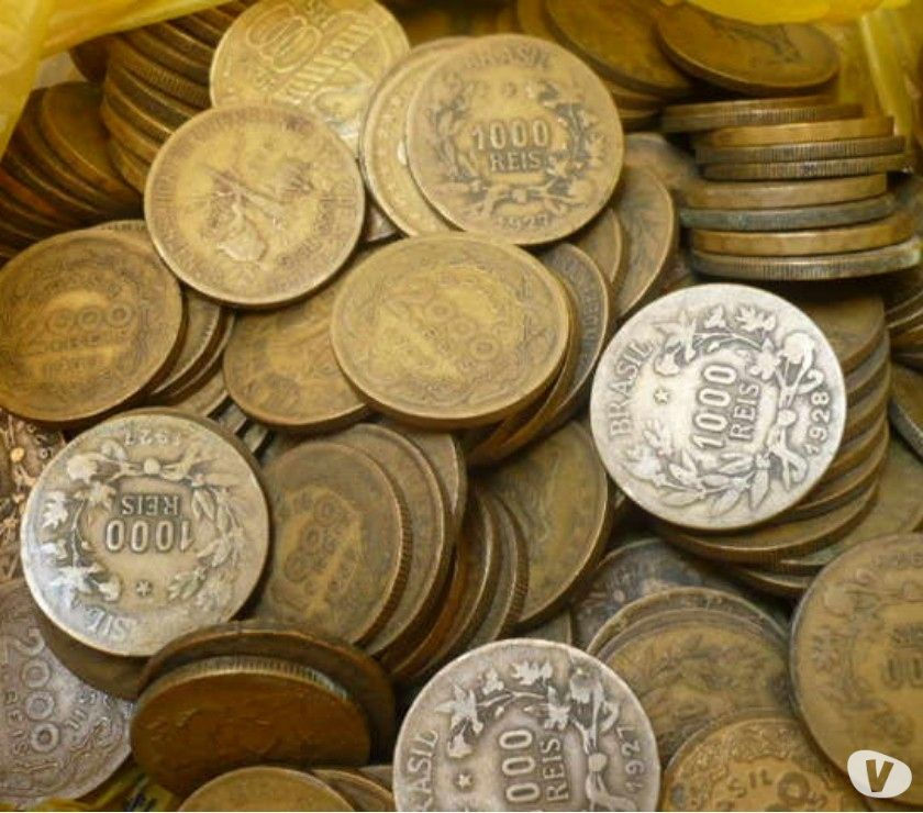 30 Quilos de moedas amarelas por R$. Compro E Vendo