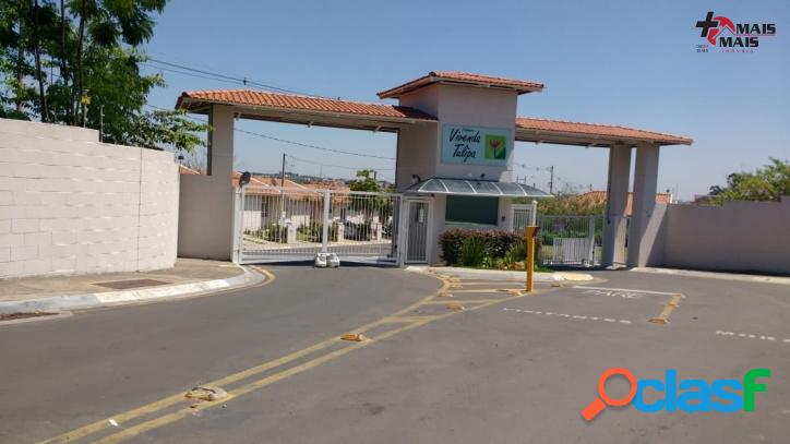 Casa 2 dorm em Condominio fechado -Aceita FGTS -HORTOLANDIA