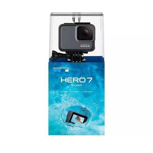 Câmera Digital Gopro Hero 7 Silver 10mp 4k30 (1080p60) Wi