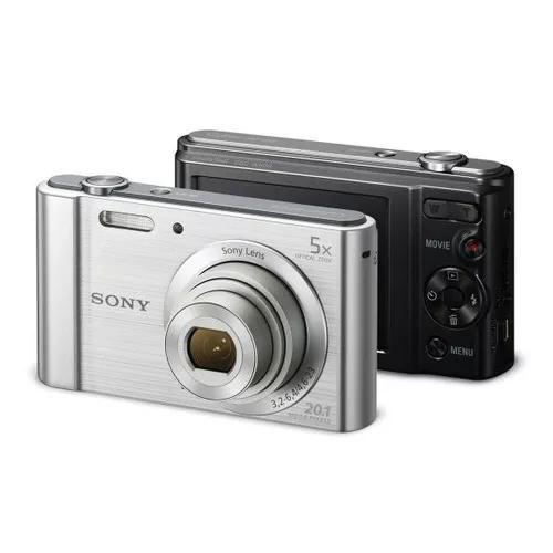 Câmera Digital Sony W800 Cyber Shot 20.1 Mp + Cartão Msd