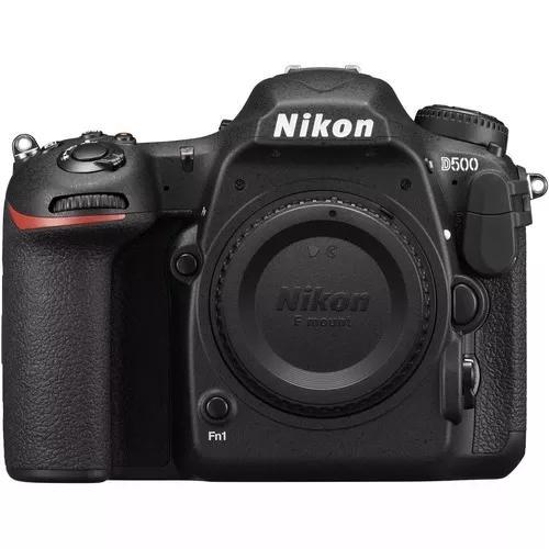 Câmera Dslr Nikon D500 Dx 20,9 Mp Wifi 4k Corpo Nota Fiscal