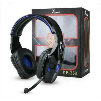 Fone de ouvido headset gamer usb pc knup kp358