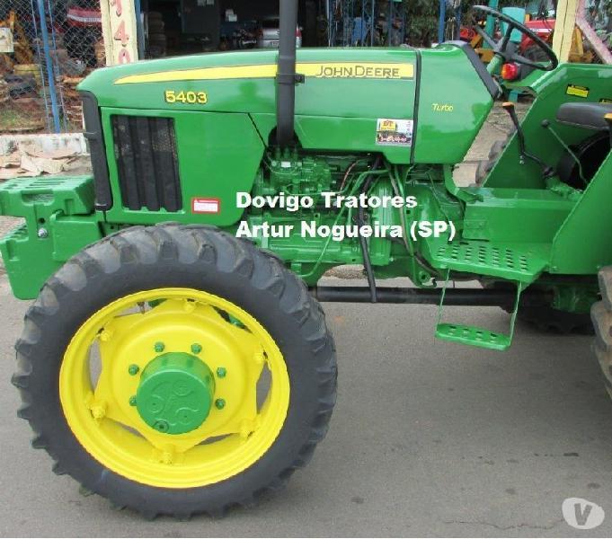 John Deere 5403 4X4 Ano:2008 a venda !!