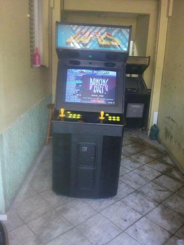 Maquina fliperama multi jogos