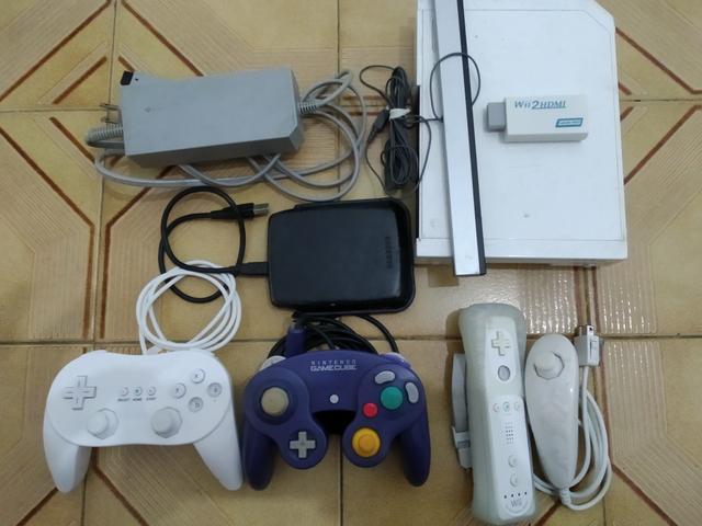 Nintendo Wii Desbloqueado - HD externo