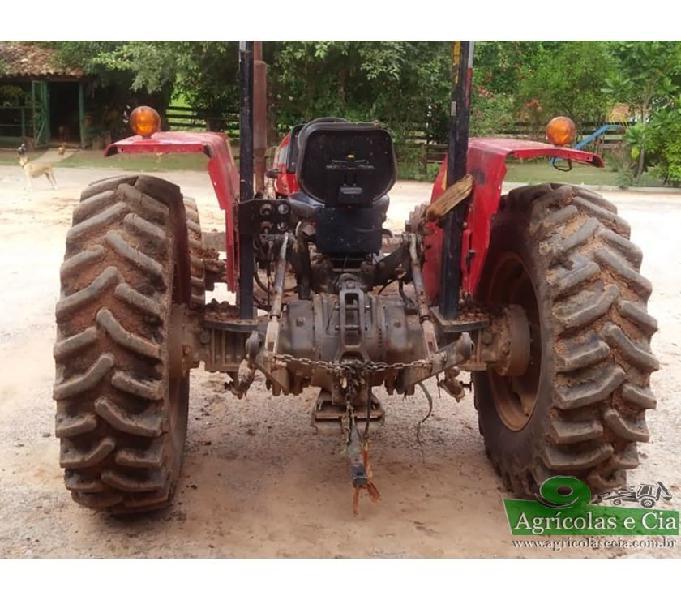 Trator Massey Ferguson 255 4x4 (Único Dono!)