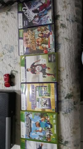 Xbox gb com varios jogos