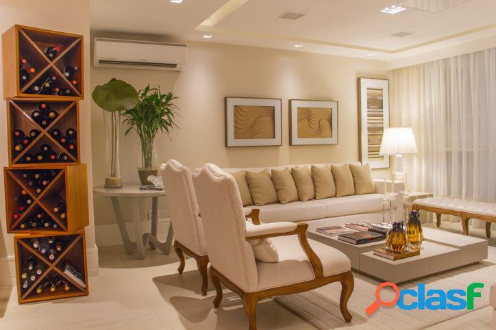 apt cidade jardim, Majestic, 169 m², 3 suites, barra