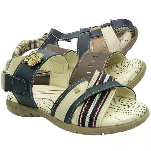 Kit 2 Sandalia Papete Infantil Menino Barato Chinelo Moda