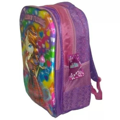Mochila 3d Infantil Grande Bolsa Menino, Menina, Criança