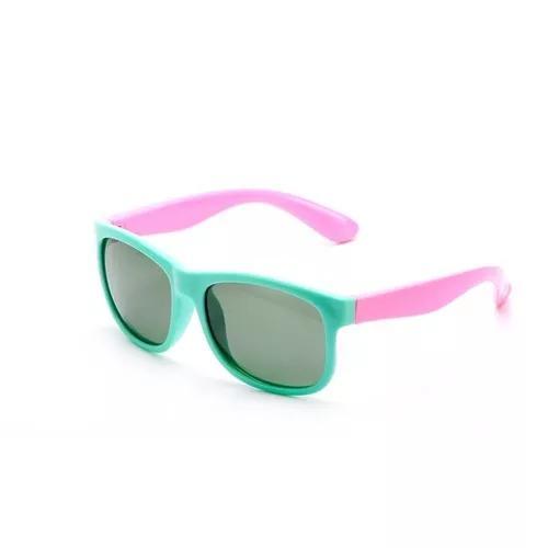 Oculos De Sol Flexivel Infantil Criança Polarizado Unissex