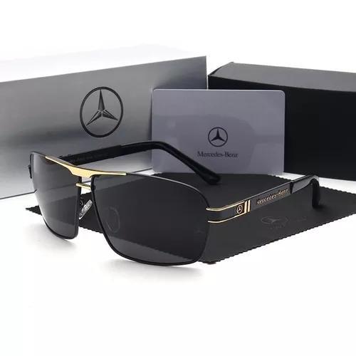 culos Mercedes Benz Golden Lentes Polarizadas Mb722 65
