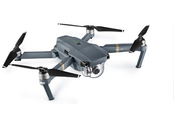 Drone DJI Mavic Pro, Wi-Fi, GPS, Controle Remoto