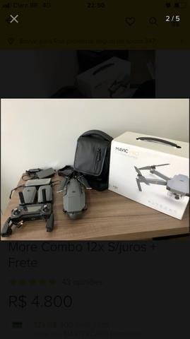 Drone Mavic Pro combo completo 3 meses de uso
