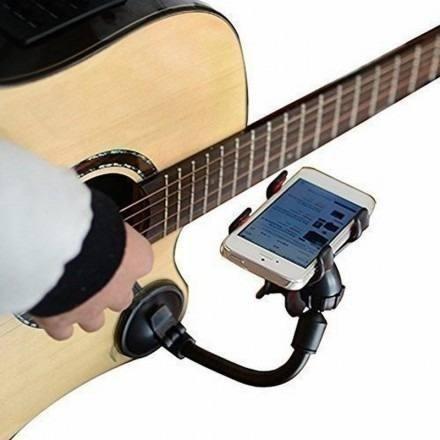 Suporte De Celular Smartphone Para Violão