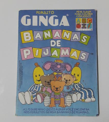 Álbum De Figurinhas Bananas De Pijamas -