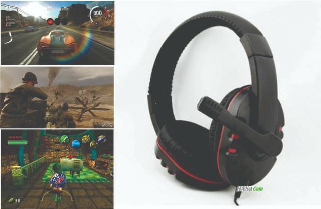 7 Fone Ouvido Gamer Headset Microfone Pc Smartfone Vídeo