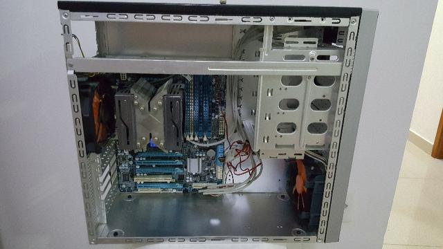 Combo i+Placa Mãe LGA  Gigabyte+16 GB ram ddr3