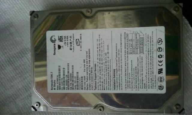 HD Ide Seagate Barracuda 40GB mod STA bom estado