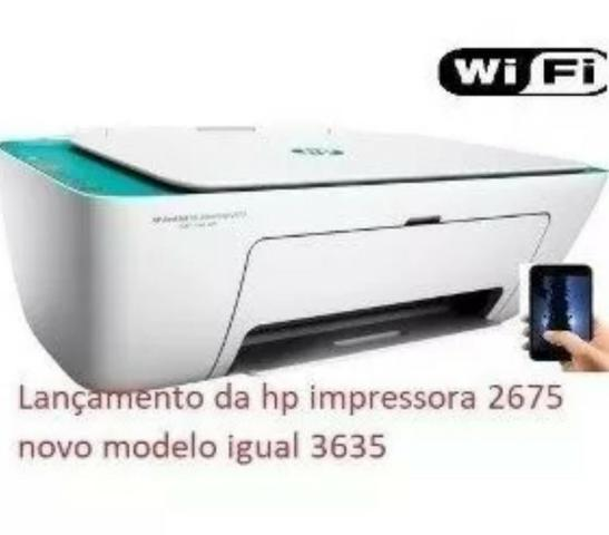 Impressora Multifuncional Hp Deskjet  Wifi Bivolt