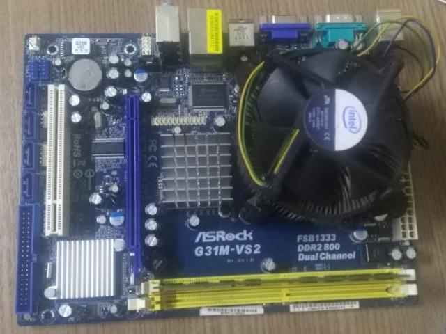 Kit Core 2 Duo + 2Gb - Frete Grátis