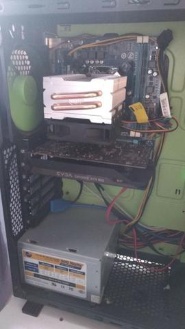 Kit Intel Gamer+ placa mãe + 8gb ram + fonte 500w + brinde