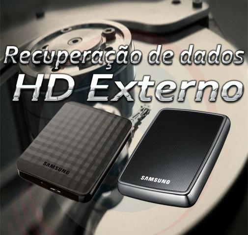 Recuperação de Dados e Arquivos em HD Externo