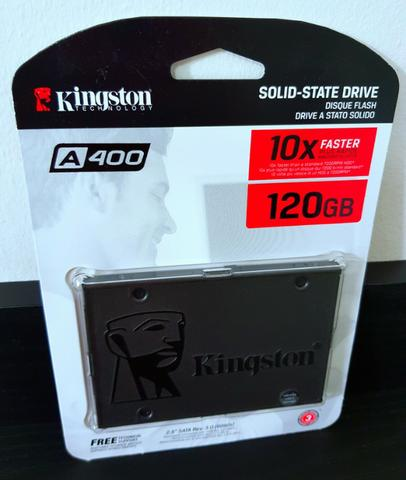 SSD Kingston 120gb NOVO