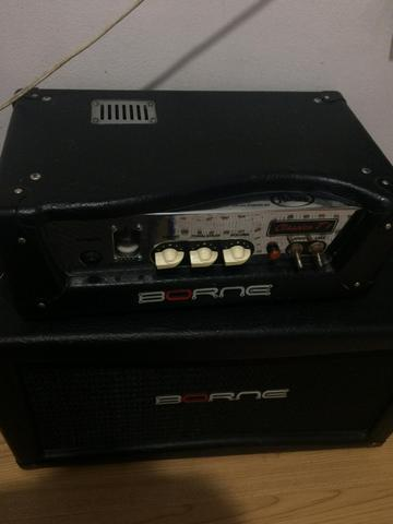 Amplificador borne clássico t7 com cabeçote
