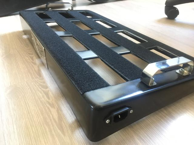 Pedal board + parte elétrica