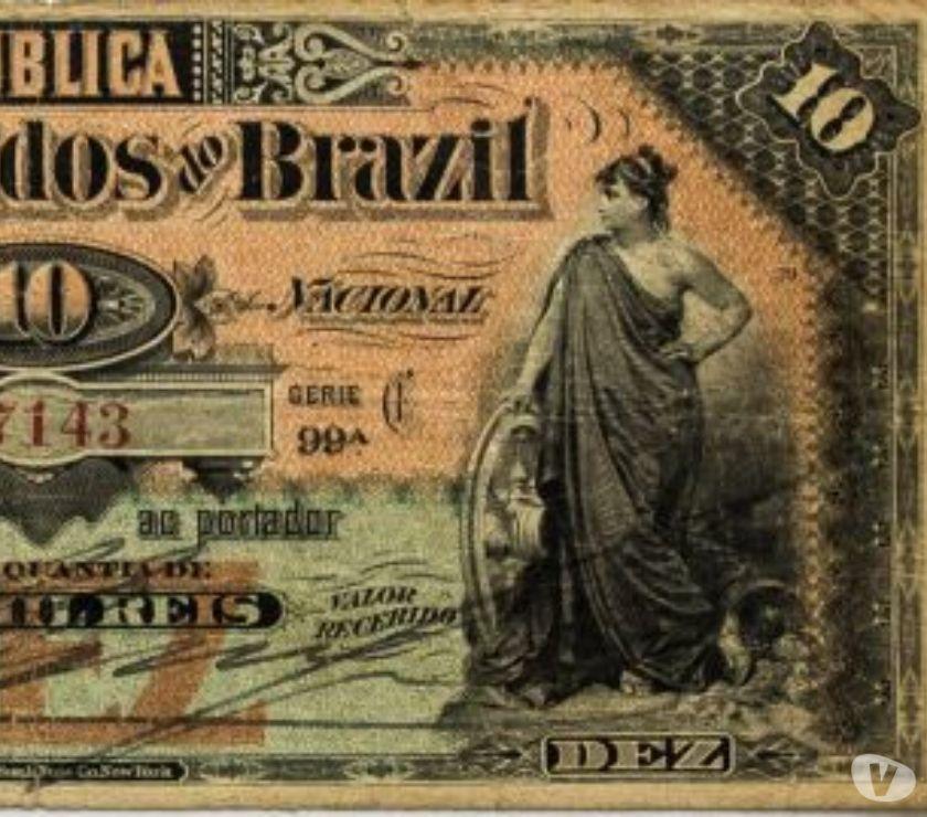 Brasil República - Cédula De 10 Mil Reis. Catálogo R 101