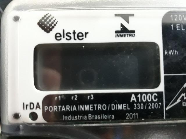 Medidor de energia monofásico digital - Relógio