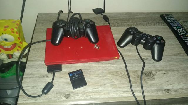 Playstation 2 destravado em ótimo estado