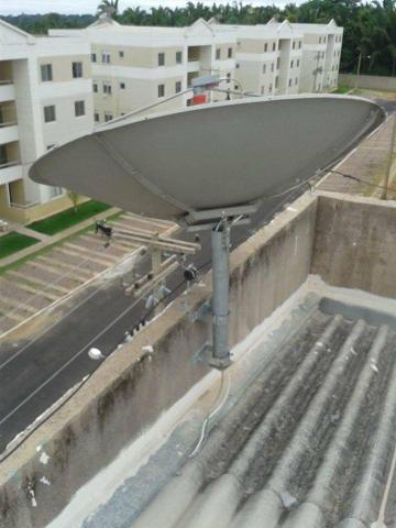 Técnico instalação e manutenção de antenas