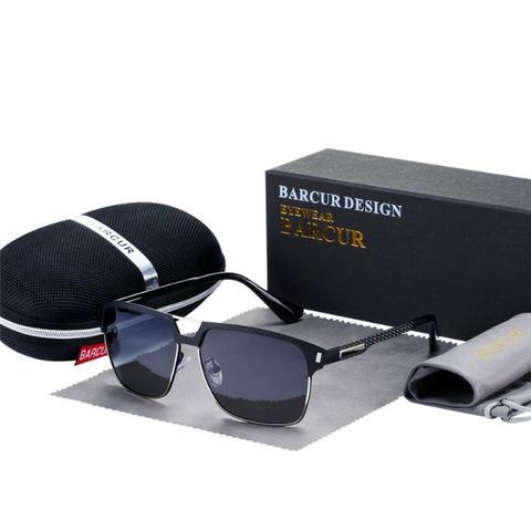 Óculos De Sol Barcur Original Polarizado Uv400