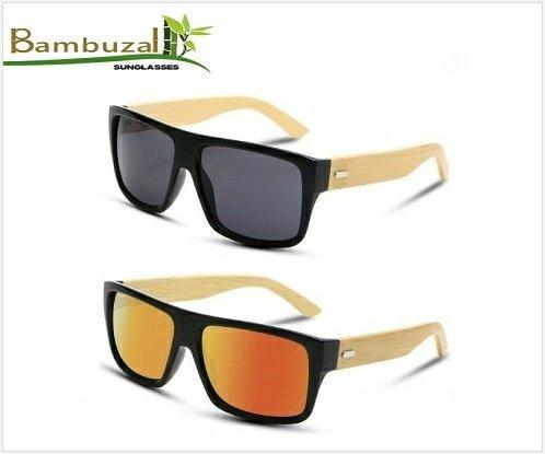 Óculos De Sol Unissex Madeira/bambu