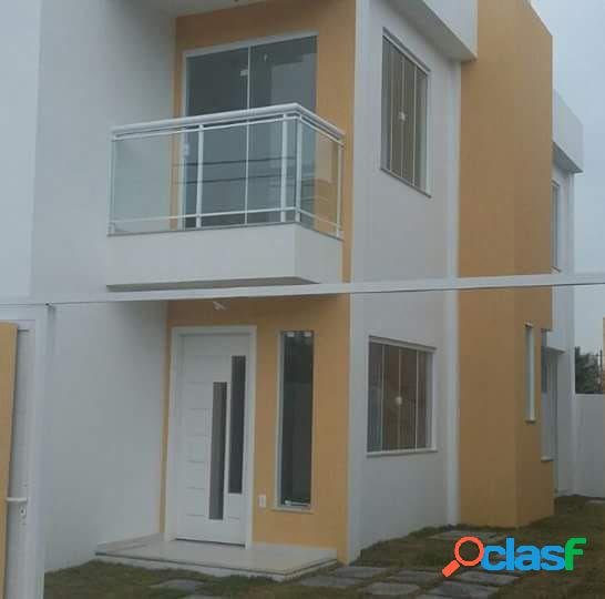 Belo Duplex 3 Quartos Novo - Terra Firme - Casa Duplex a
